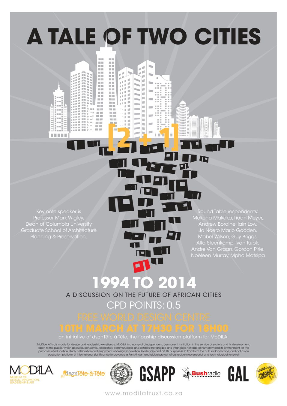 Poster design for architecture - Click To View The Full A Tale Of 2 1 Cities Poster
