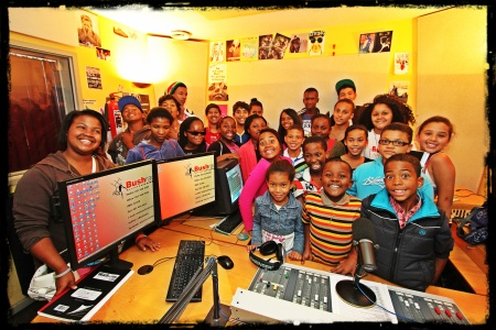 Some of the members of the 2013 CREW radio programmes