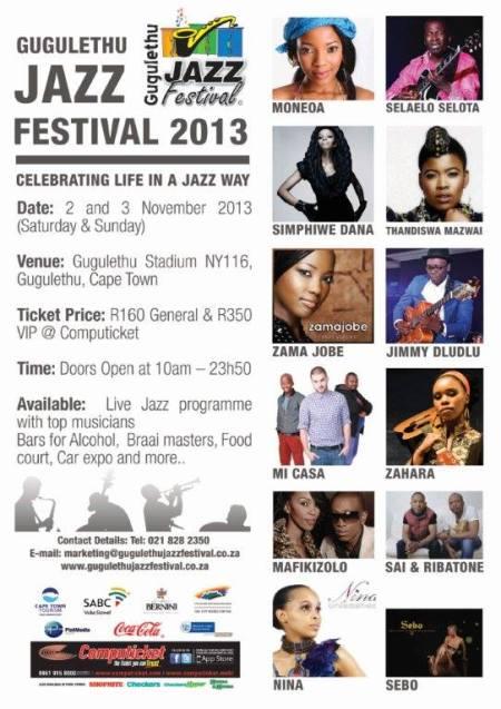 gugs jazz festival 2013 programme