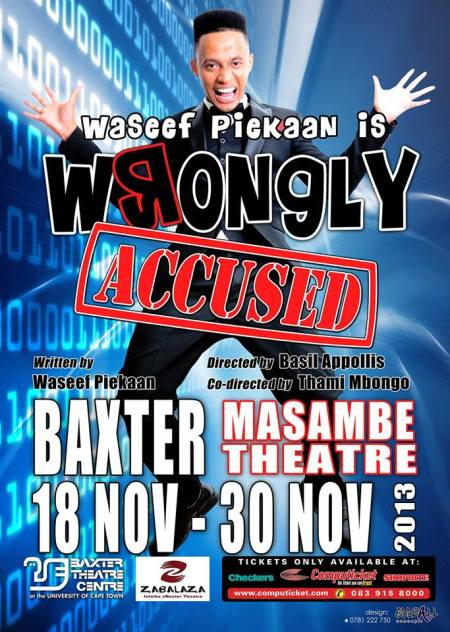 Wassef Piekaan Wrongly accused (2)