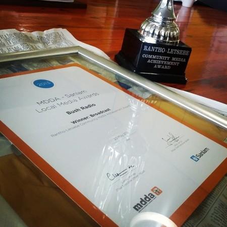 ranthi letsebe award 2013